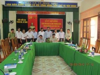 """Ban quản lý VQG Phong Nha - Kẻ Bàng và Công ty cổ phần tập đoàn Trường Thịnh tổ chức lễ ký """"Hợp đồng cung ứng DVMTR để kinh doanh du lịch sinh thái"""""""
